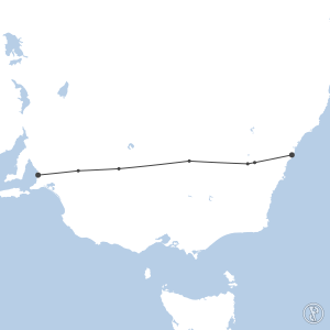 Map of flight plan from YSSY to YPAD